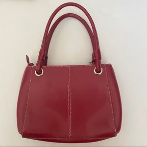 Wilson's Leather Red Bag